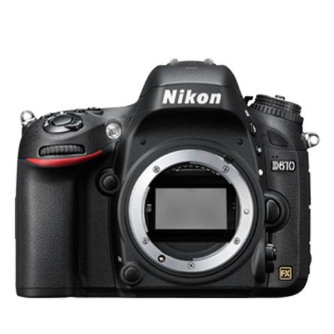 Nikon 尼康  D系列  D610 单反 (黑色) MB-D14电池手柄套装