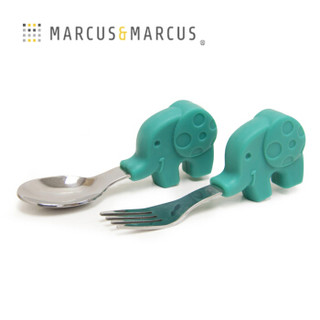 Marcus&Marcus 马库斯 宝宝不锈钢学习训练叉勺