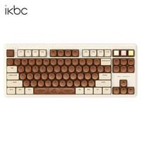 iKBC ikbc 歌帝梵联名 无线蓝牙双模超薄机械键盘 红轴