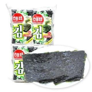 韩国进口 海牌海苔 香脆紫菜烤海苔 休闲零食儿童零食经典原味2g*32包