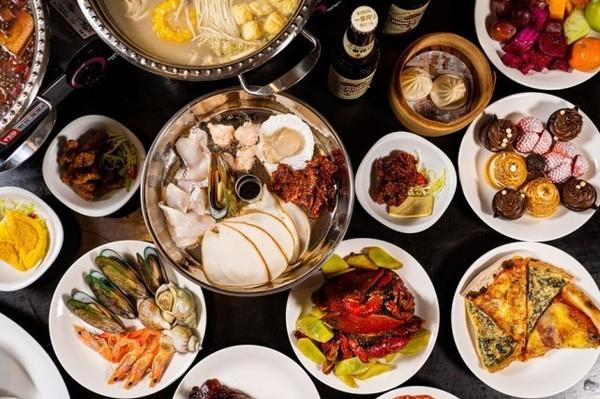 春节可用!M5澳洲和牛、虾滑鱼片、近10款海鲜畅吃!上海外滩茂悦大酒店蒸汽火锅自助餐