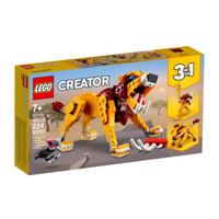LEGO 乐高 创意百变系列 31112 狂野狮子