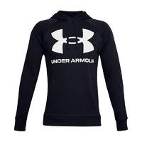UNDER ARMOUR 安德玛 Rival Big Logo 中性运动卫衣 1357093