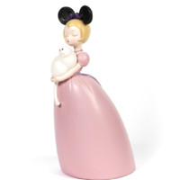 Ben Art Gallery 本艺术空间 贾晓鸥 薄云的猫 35x18x17cm 雕塑 粉色