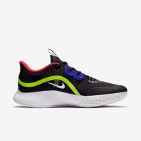 NIKE 耐克 Air Max Volley 男子網球鞋 CU4274-001 黑/熒光黃/激光紅/白色 40