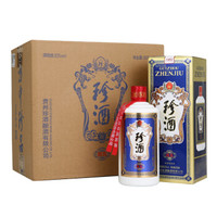 KWEICHOW ZHENJIU 贵州珍酒 珍五 53%vol 酱香型白酒 500ml*6瓶