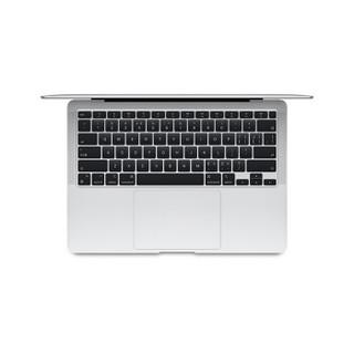 Apple 苹果 MacBook Air 13.3英寸 笔记本电脑 银色(M1、核芯显卡、16GB、256GB SSD、2K、LED、60Hz、A2337)