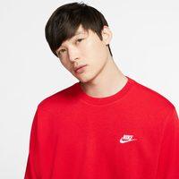 NIKE 耐克 Sportswear Club French 男子卫衣 BV2667-657 大学红/白 L