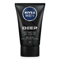 NIVEA 妮維雅 深黑DEEP控油保濕潔面泥 50g