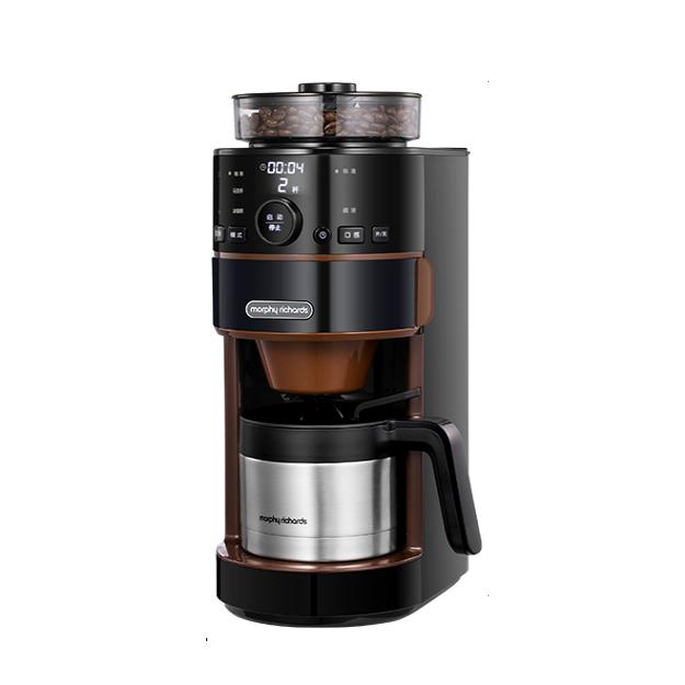 Morphy Richards 摩飞 绅雅黑系列 MR1103 全自动咖啡机 黑色