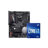 百亿补贴、数码配件节:Intel 英特尔 i7-10700F盒装处理器+技嘉 技嘉B460M D2V主板 板U套装