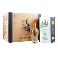 劲牌 毛铺系列 苦荞酒 黑荞 42.8%vol 白酒 500ml*6瓶 整箱装