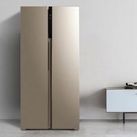 小编精选:Midea 美的 BCD-450WKZM(E) 对开门冰箱 450L