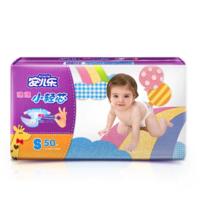Anerle 安儿乐 小轻芯 婴儿纸尿裤 S50片 *4件