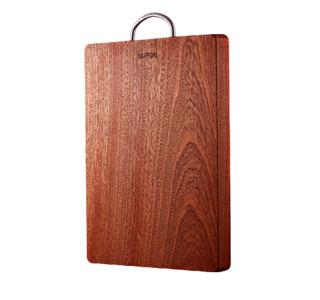 SUPOR 苏泊尔 乌檀木整木菜板砧板实木家用防霉切菜板厨房案板和面板占板
