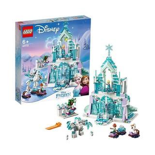 百亿补贴 : LEGO 乐高 迪士尼公主系列 43172 艾莎的魔法冰雪城堡