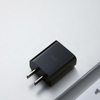 ZMI紫米苹果12充电器C to lightning18W PD快充 支持iphone12/12pro/iPad 黑色