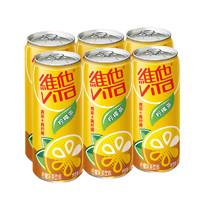 ViTa 维他奶 维他柠檬茶饮料 310ml*6罐  *2件