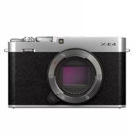 FUJIFILM 富士 X系列 X-E4 APS画幅微单相机 银色