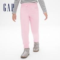 88VIP:Gap 盖璞 女幼童LOGO抓绒保暖运动裤