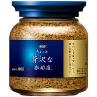 AGF 黑咖啡瓶装 80g