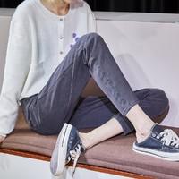 Tonlion 唐狮  62542FC0083405A211 女士牛仔裤