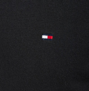 TOMMY HILFIGER 汤米·希尔费格 男士圆领针织衫 MW0MW14748 黑色 M