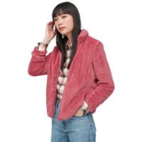 UNIQLO 优衣库 女士摇粒绒短外套 428330 桃红色 M