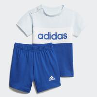 adidas 阿迪达斯 I CB SET GD6171 男童短袖运动套装