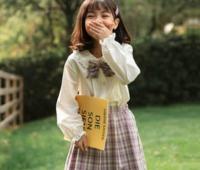 follow me 富罗迷 女童日系学院风套装