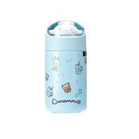 名创优品(MINISO)Sanrio Characters公仔保温杯蓝色280mL 304不锈钢男女士便携茶杯壶 *3件