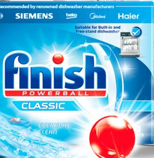 finish 亮碟 洗碗机专用洗涤块 30块