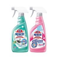 88VIP: KAO 花王 魔术灵 厨房浴室清洁剂组合 500ml*2瓶装