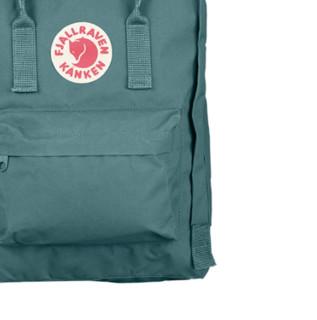 FJÄLLRÄVEN 北极狐 Kanken Classic系列 男女款休闲双肩背包 23510-664 霜绿色 16L