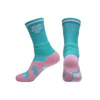 RIGORER 準者 籃球運動襪 Z120340397 均碼 綠粉