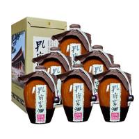 孔府家酒 经典大陶 52%vol 浓香型白酒 500ml*6瓶 整箱装