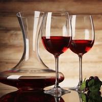 乐美雅 红酒杯醒酒器组合套装 红酒杯*350ML*4+醒酒器*1.3L