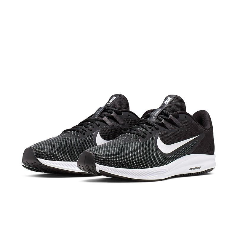 NIKE 耐克  Downshifter 9 男子跑鞋  AQ7481-002 黑白 41