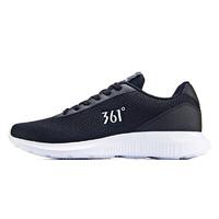 361° 男子跑鞋 671832270-3 曜石黑/361度白 42