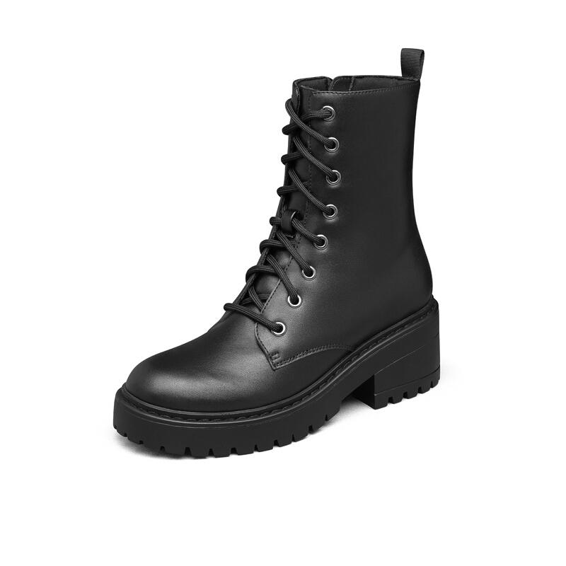 SKECHERS 斯凱奇 MODERN COMFORT系列 Teen Spirit 女子戶外休閑鞋 49056/BBK 黑色 40