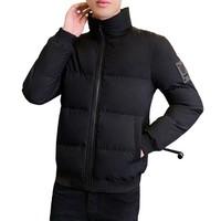 Lee Cooper 男子戶外棉服 MD8RKQS919-B 黑色 L
