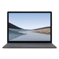 Microsoft 微软 Surface Laptop 3 13.5英寸 轻薄本 亮铂金(酷睿i5-1035G7、核芯显卡、8GB、256GB SSD、2K、PixelSense触摸显示屏、60Hz)