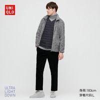 限尺码:UNIQLO 优衣库 429285000  男装高级轻型羽绒便携式背心外套