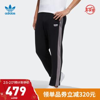 阿迪达斯官网 adidas 三叶草 RYV Sweat Pant 男装运动裤H07088 黑色 M(参考身高:179~185CM)