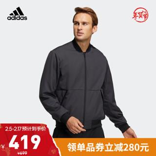 阿迪达斯官网 adidas FI JKT WV BOMB 男装训练运动夹克外套GP0975 黑色 A/L(180/100A)