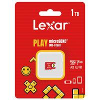 百亿补贴:Lexar 雷克沙 microSDXC A2 UHS-I U3 TF存储卡 1TB 任天堂主机专用