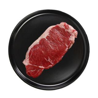 恒都 国产谷饲西冷原切牛排 450g/袋 3片 原切牛肉 *3件
