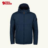 北极狐2020新款男士户外运动防风保暖棉服轻量透气棉夹克08202121(AL、555暗海蓝)