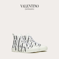VALENTINO GARAVANI/华伦天奴VLTN TIMES Giggies 高帮织物运动鞋(44、白色)