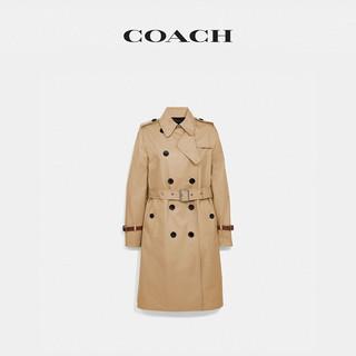 COACH/蔻驰女士风衣外套(06、亮卡其色)